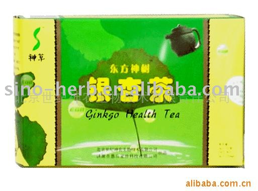 Herb Ginko Tea for Reduceing High Blood Pressure