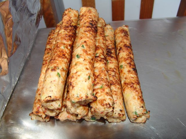 Halal Seekh Kebab