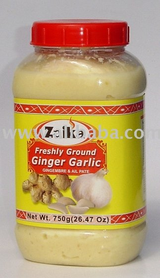 Garlic & Ginger Paste