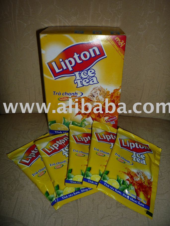 LIPTON ICE TEA - LEMON FLAVOR
