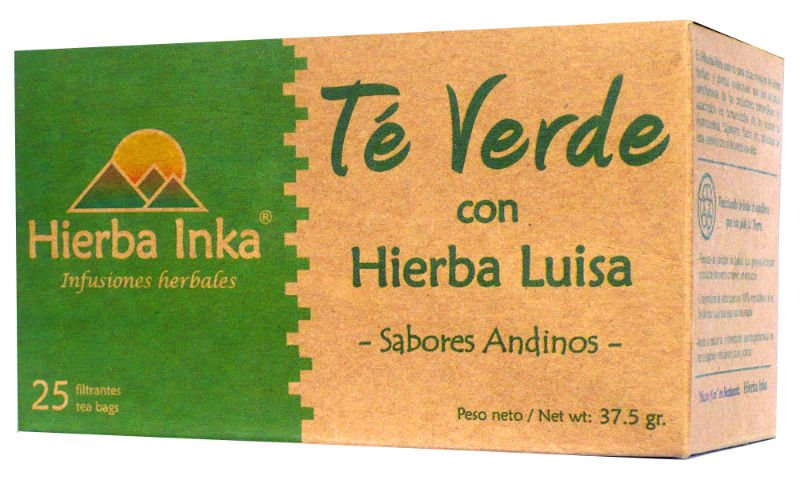 GREEN TEA WITH LEMON GRASS - HIERBA INKA
