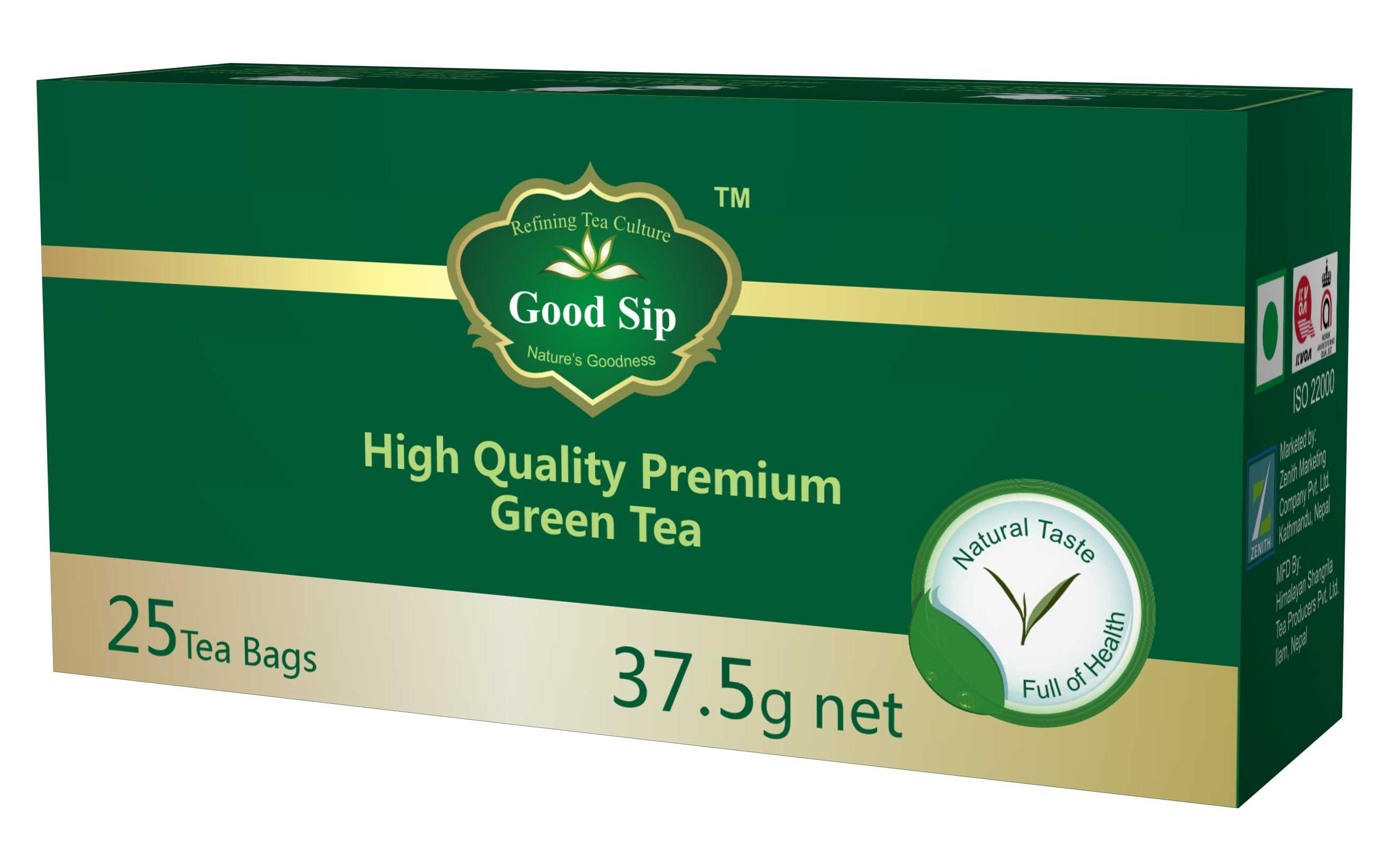 Good Sip High Quality Premium Green Tea (in Tea Bag)
