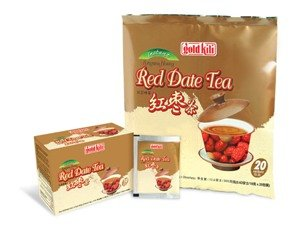 Gold Kili Instant Honey Red Date Tea