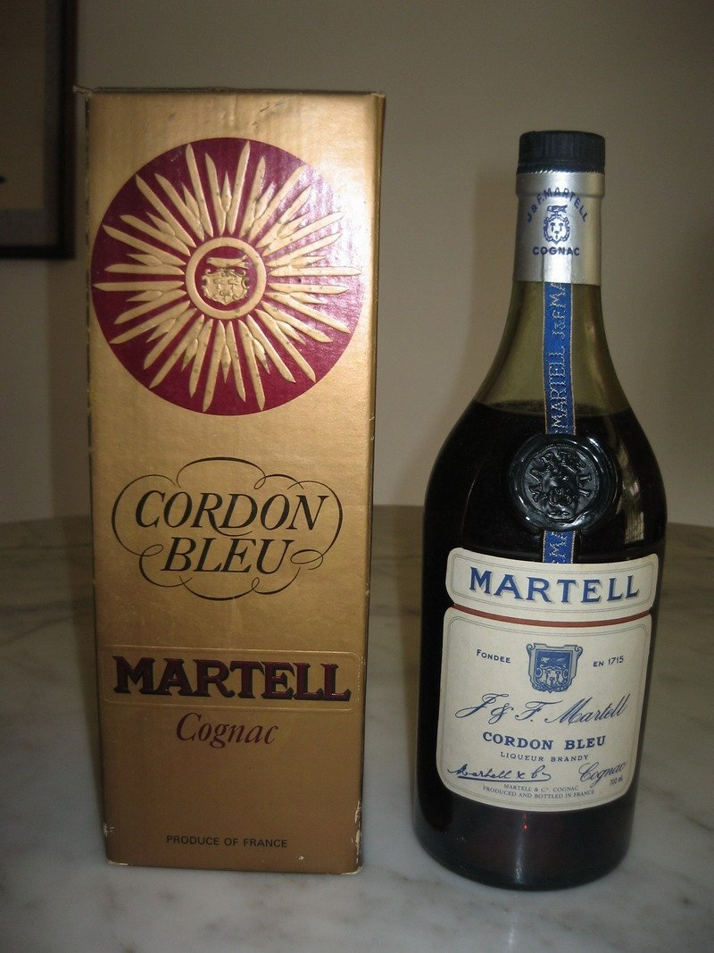 Martell Cordon Bleu Alcohol