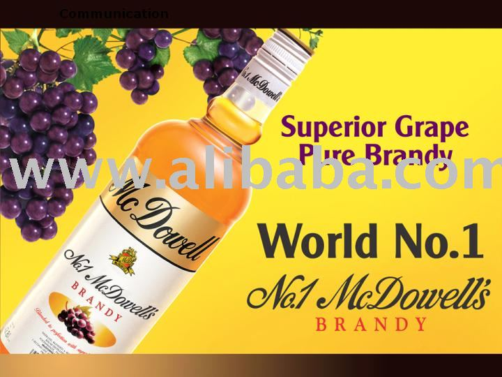 McDowell's No. 1 Brandy