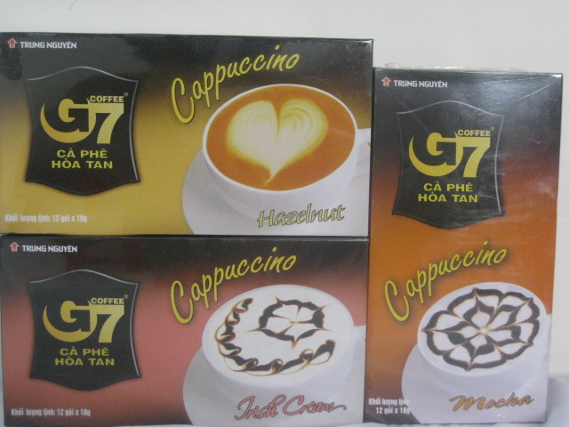 Trung Nguyen - G7 Instant Coffee - Cappuccino