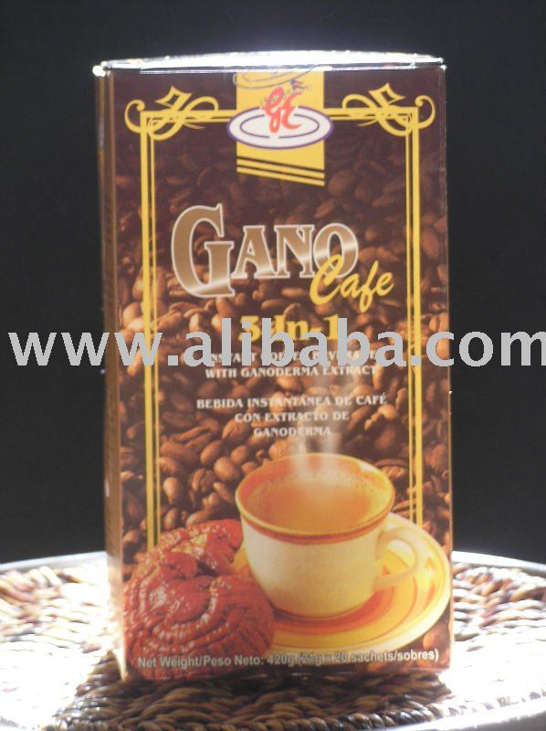 GANO CAFE' 3 IN 1 HEALTHY COFFEE