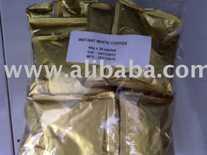 White Coffee, OEM White Coffee, White Coffee Raw Material, Malaysia No. 1 White Coffee, Coffee Raw M