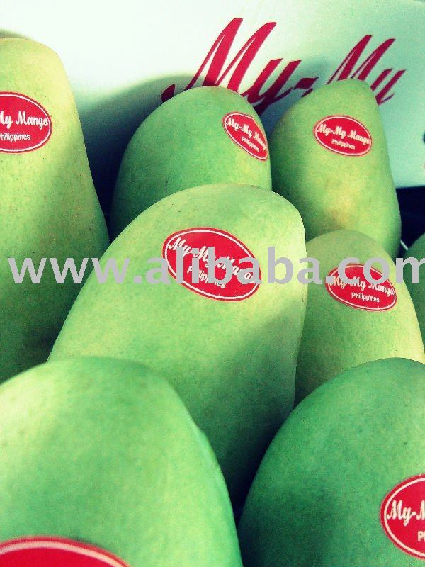 My-My Fresh Green Mangoes