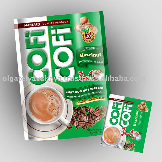 COFFEE 3 in 1 COFICOFI Hazelnut