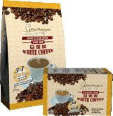 Instant White Coffee & 3 In 1 Coffee