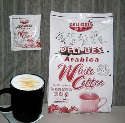 Deli-Bes 3 in 1 Instant White Coffee