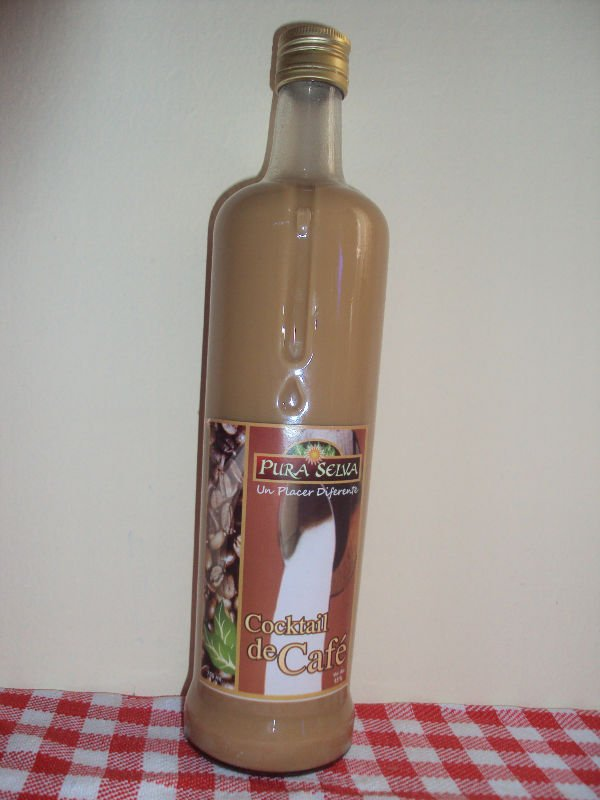 cocktail of the coffee alcohol