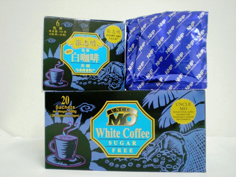 Uncle Mo Booster Sugar Free White Coffee