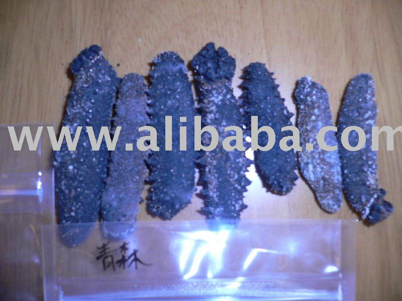 Japan's production of natural dried sea cucumber