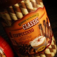 WAFER STICK CHOCOLATE CAPPUCINO