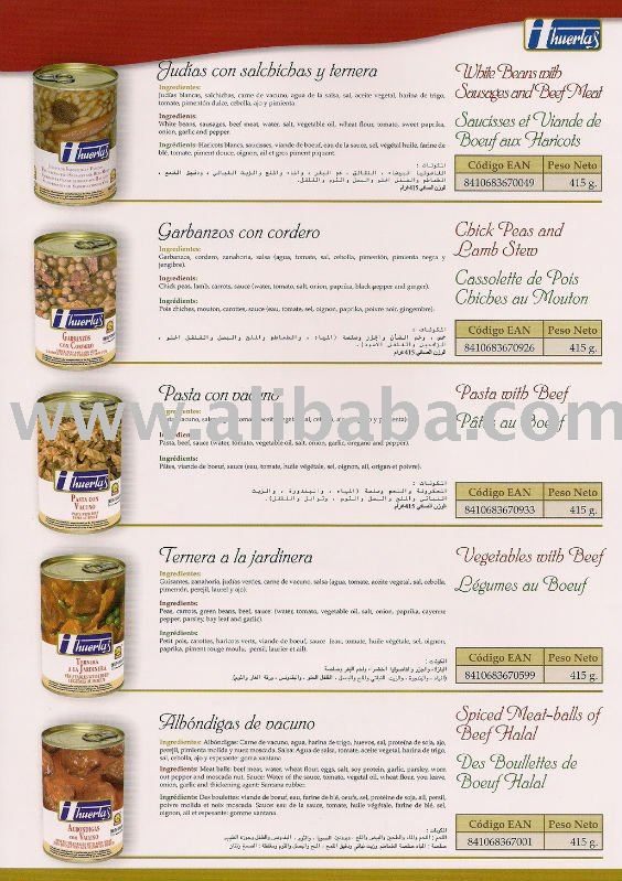 halal canned foods