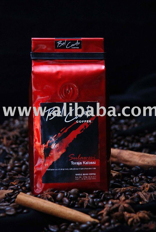Toraja Kalossi coffee