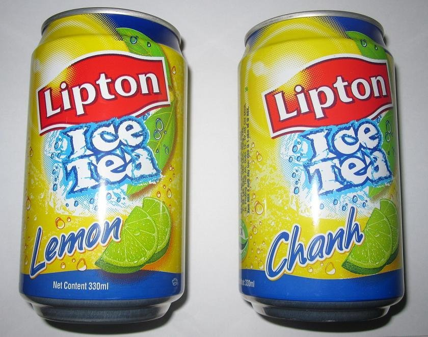 Lipton Ice Tea 330ml in Can