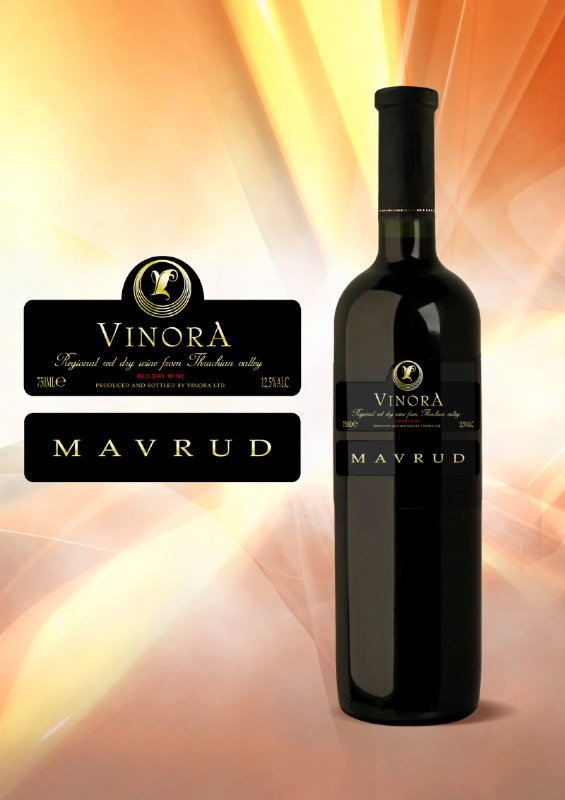 VINORA MAVRUD 2007 red wine