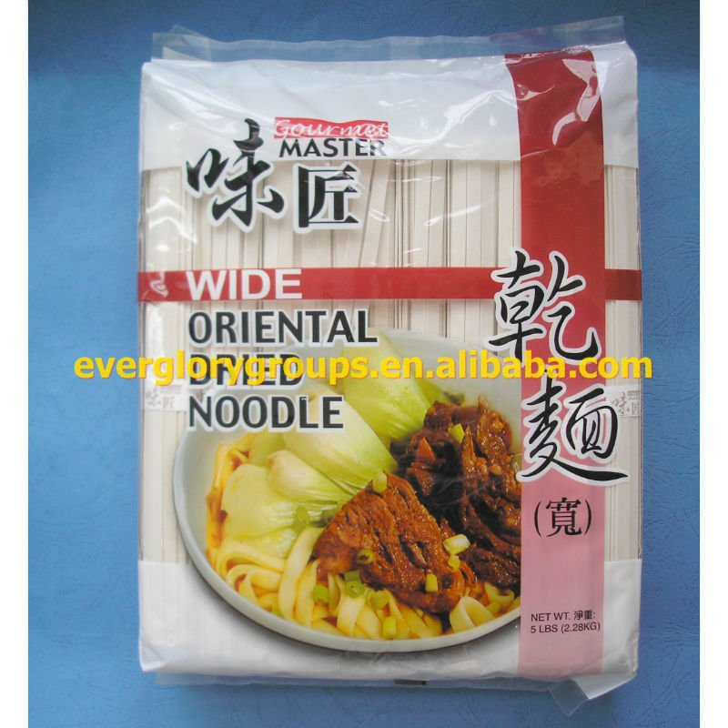 Instant Medium oriental dried noodles