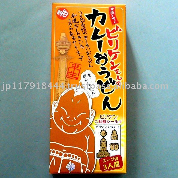 Billiken's curry noodles made in Japan