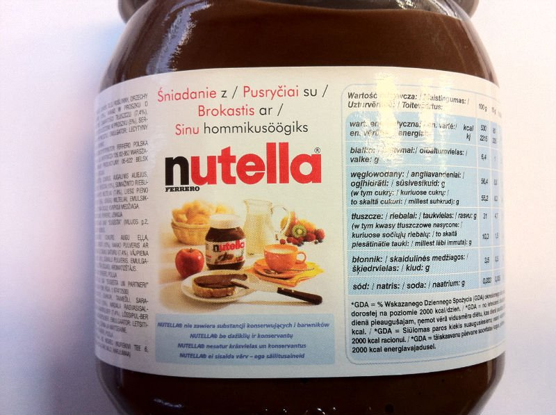 Offering Ferrero Nutella Hazelnut Spread Sauce T180x8