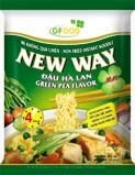 New way - Green Pea Flavor