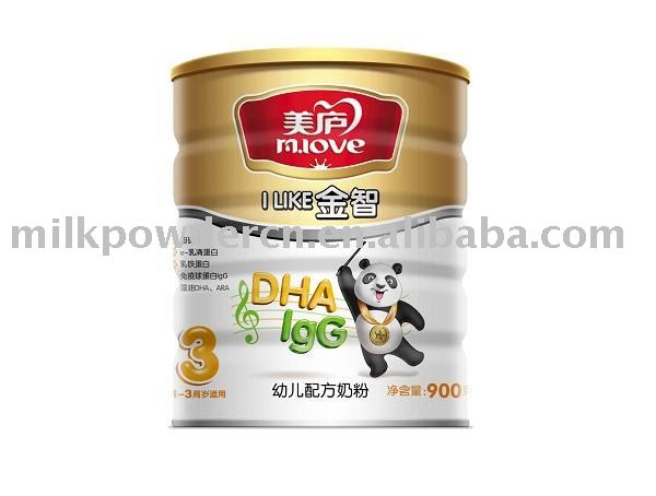 milk powder gold wisdom series step 3 900g/tin