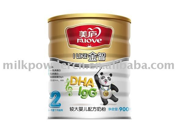 milk powder gold wisdom series step 2 900g/tin
