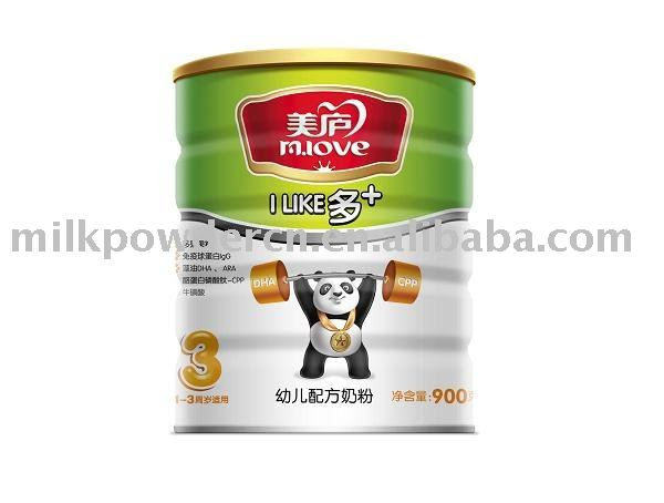 baby formula  more + Milk Powder series step 3 900g/tin