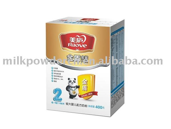 infant formula milk powder gold dong series step 2 400g/box