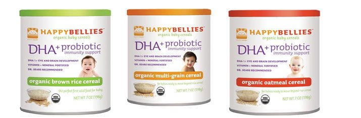 Happy Belliees Organic Baby Cereals