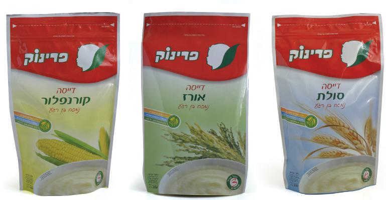 PRINOK- badatz-eda haredit kosher baby food cereals