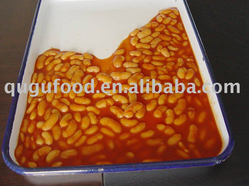 canned vegetable white kidney beans in tomato sauce