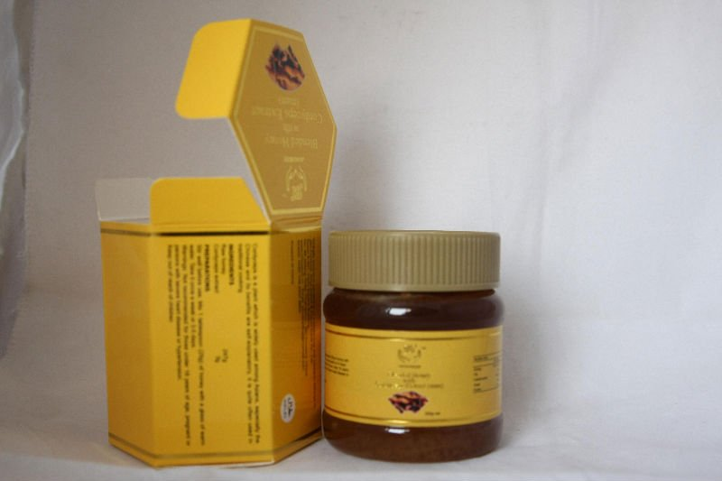Blended honey with cordyceps 100% nature herbal extract male sex product