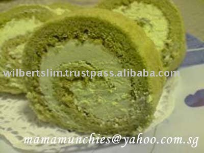 Jasmine cake flavor for confectioneries