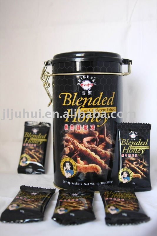 Blended honey with cordyceps extract for male Tonic, sex products
