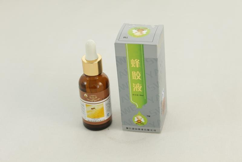 natural and pure bee propolis