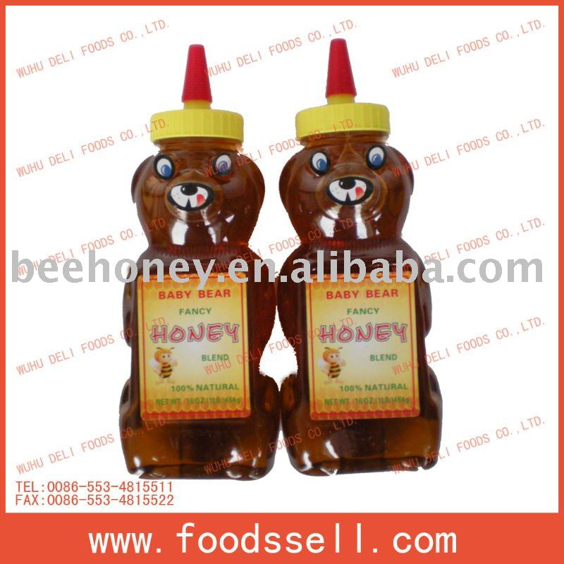 Bear Bottle Honey Syrup (Honey Bear)