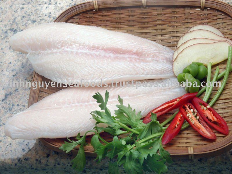 FROZEN PANGASIUS (BASA) CATFISH SWAI FISH SEAFOOD- WHITE MEAT FILLET WELLTRIMMED