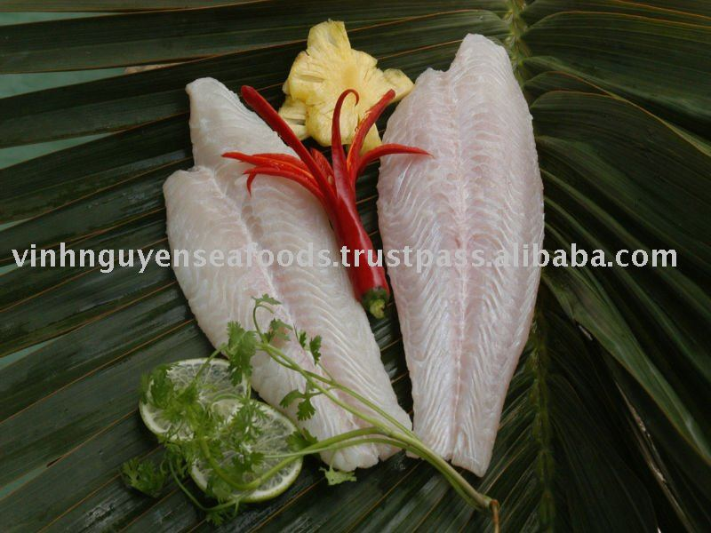 FROZEN PANGASIUS (BASA) CATFISH SWAI FISH SEAFOOD-WHITE MEAT WELLTRIMMED FILLET