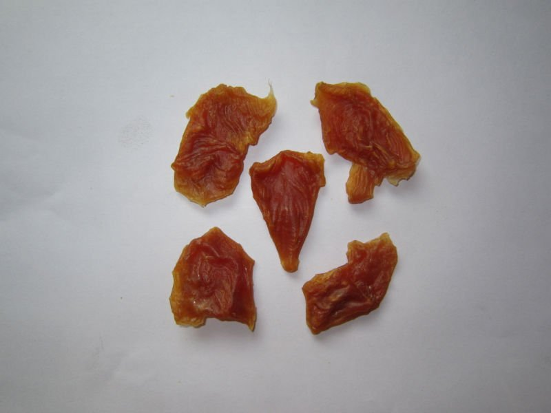 pet food Dried chicken piece