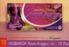 Jenang Kudus - Grape Mubarok