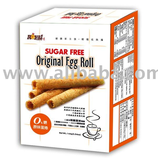 Royal Sugar Free Egg Roll