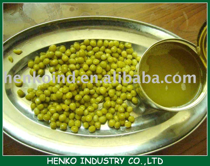 canned dry green peas