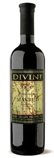 Bulgarian Red Wine Mavrud