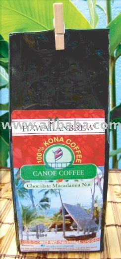 100% Hawaiian Chocolate Macadamia Nut Kona Coffee