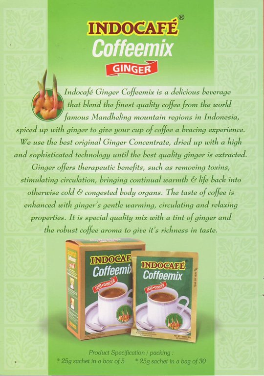 Indocafe Ginger Coffee mix