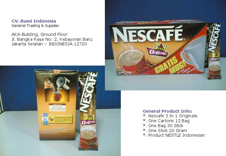 Nescafe 3 In 1 Stick 20G Coffee